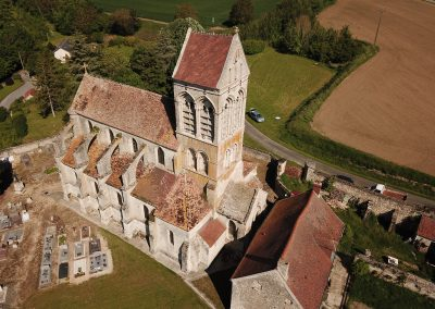 Eglise de Lesges